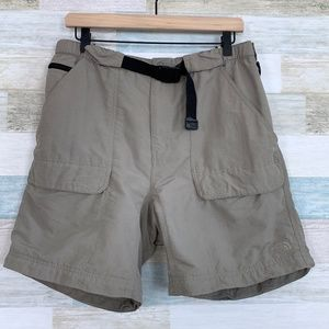 Nylon Hiking Shorts Beige The North Face